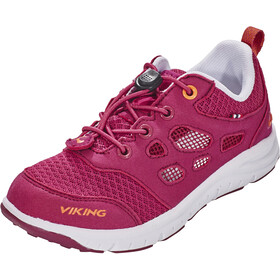 Viking Footwear Saratoga Air Chaussures Enfant, fuchsia/orange